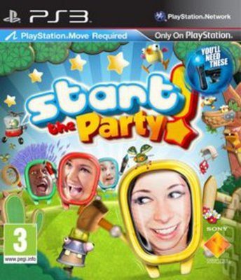 Compare Sony Computer Entertainment new Start The Party PS3 Game in UK
