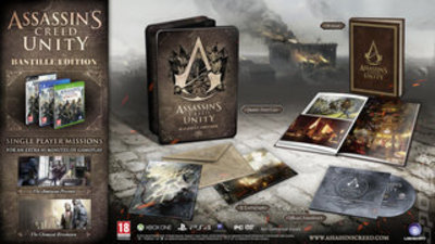 Compare Sony Computer Entertainment used Assassins Creed Unity Bastille Edition PS4 Game in UK