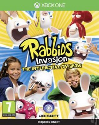 Compare Microsoft used Rabbids Invasion The Interactive TV Show XBOX ONE Game in UK
