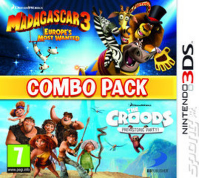 Madagascar 3/The Croods Double Pack - Nintendo 3DS