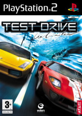 Test Drive Unlimited Used PS2 Game