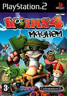 Cheapest price of Worms 4 Mayhem PS2 Game in used is £3.39