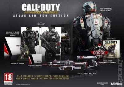 Compare Sony Computer Entertainment new Call of Duty Advanced Warfare Atlas Limited Edition PS4 Gam in UK