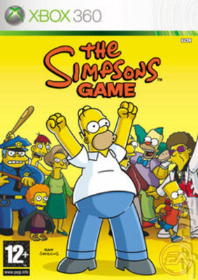 Cheapest price of The Simpsons Game XBOX 360 Game in used is £8.59