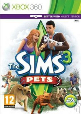 Compare Microsoft used The Sims 3 Pets XBOX 360 Game in UK