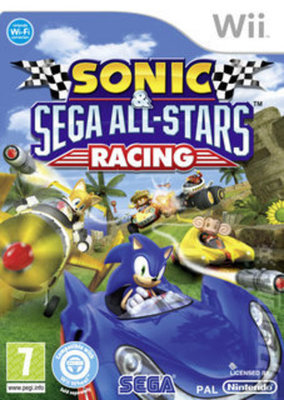 Compare Nintendo used Sonic and SEGA All-Stars Racing Nintendo Wii Game in UK