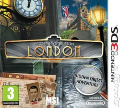 Compare Nintendo used Secret Mysteries in London Nintendo 3DS Game in UK