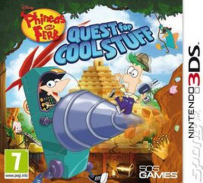 Cheapest price of Phineas and Ferb Quest for Cool Stuff Nintendo 3DS Game in used is £18.49