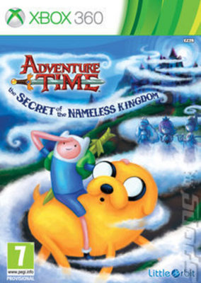 Buy Used Adventure Time The Secret of the Nameless Kingdom XBOX 360 Game
