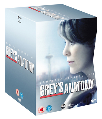 Grey\'s Anatomy: Complete Seasons 1-11 DVD / Box Set - musicMagpie Store