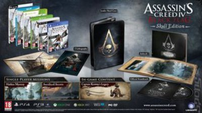 Compare Microsoft new Assassins Creed IV Black Flag The Skull Edition XBOX ONE Game in UK