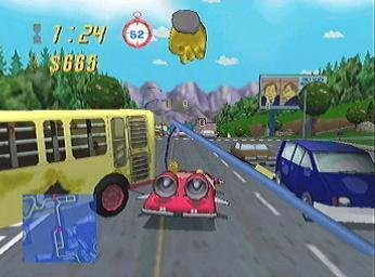 Simpsons Road Rage (PS2) - PlayStation2 - musicMagpie Store