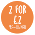 2 for 2pounds roundel used