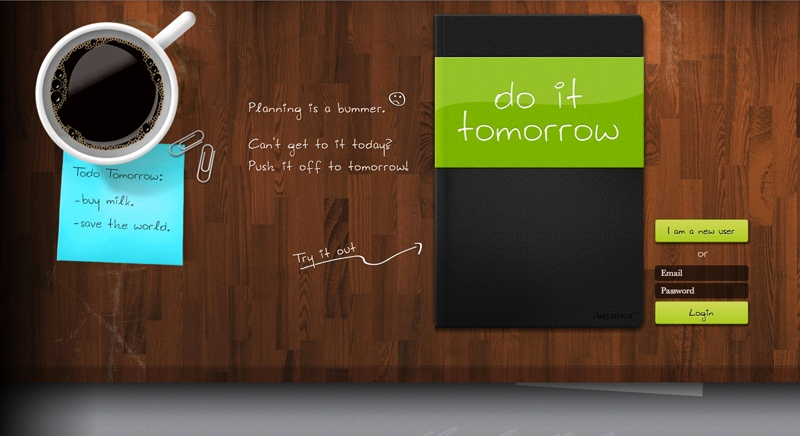 Do It Tomorrow