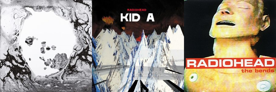 Radiohead Albums