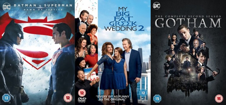 New DVDs - August 1