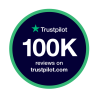 We've reached 100,000 reviews on Trustpilot! ⭐⭐⭐⭐⭐