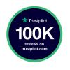 We've reached 100,000 reviews on Trustpilot! ⭐⭐⭐⭐⭐