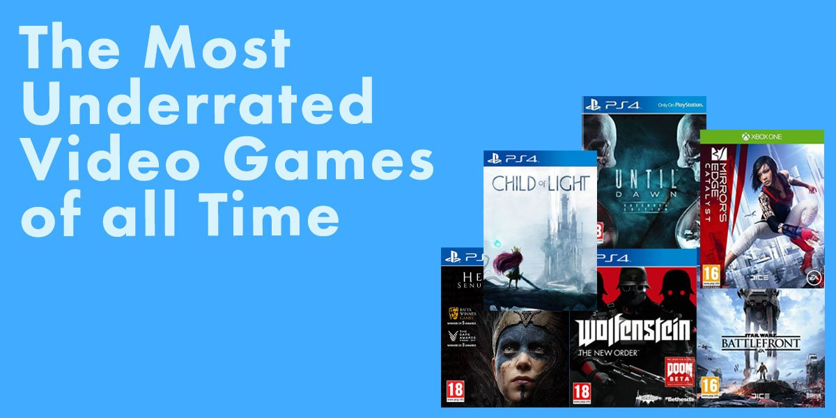 Underrated video games